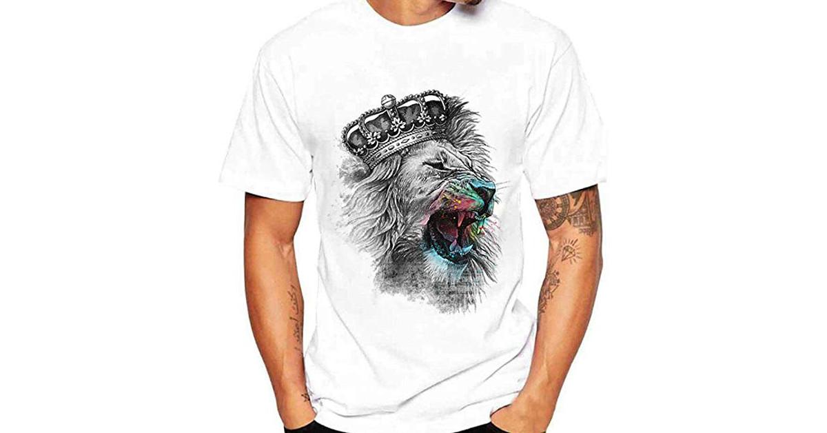 camisetas remeras de leones