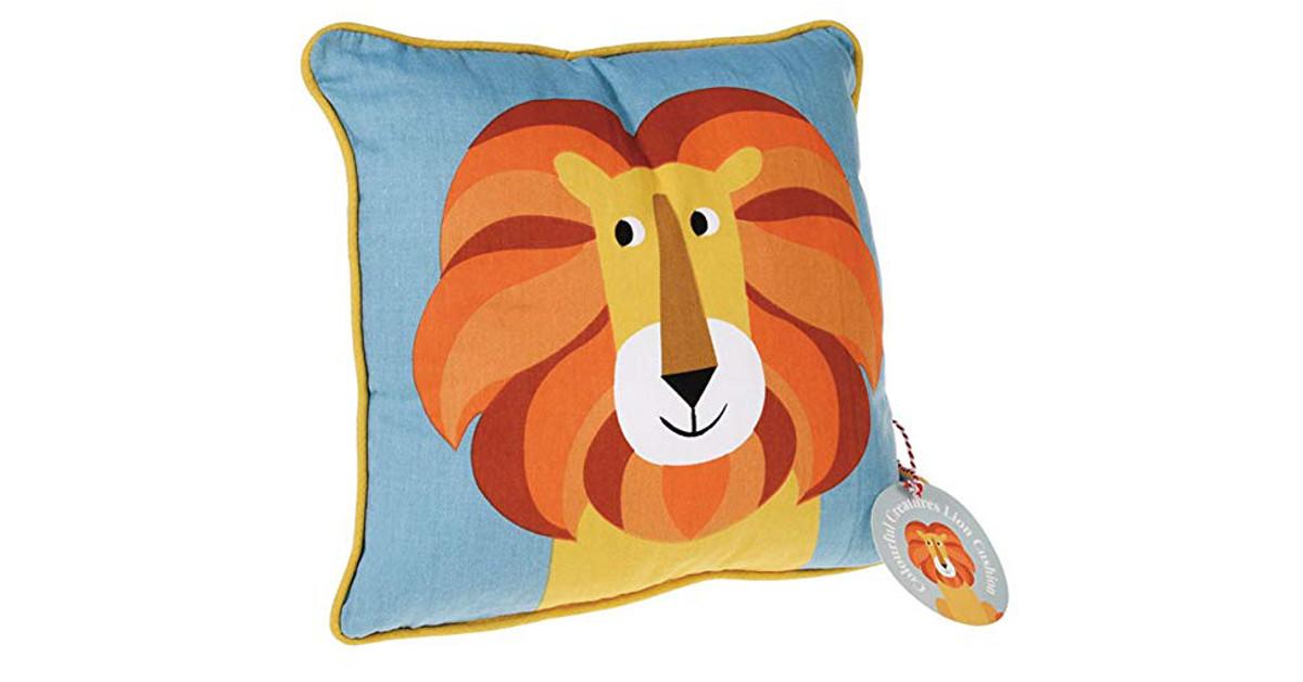 cojin almohada leon rey leona leones