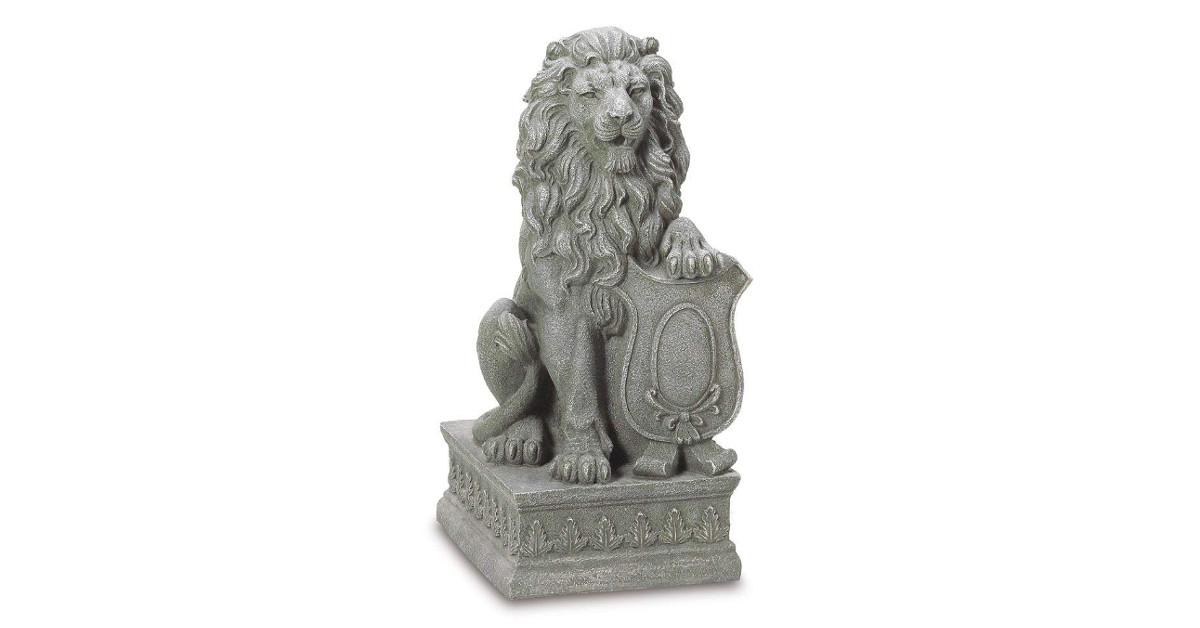 escultura de leon leones leona leonas