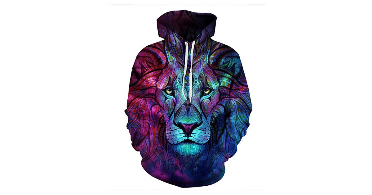 sudadera leon leona leones