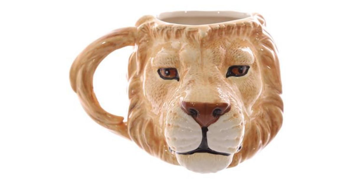 taza leon leona leones