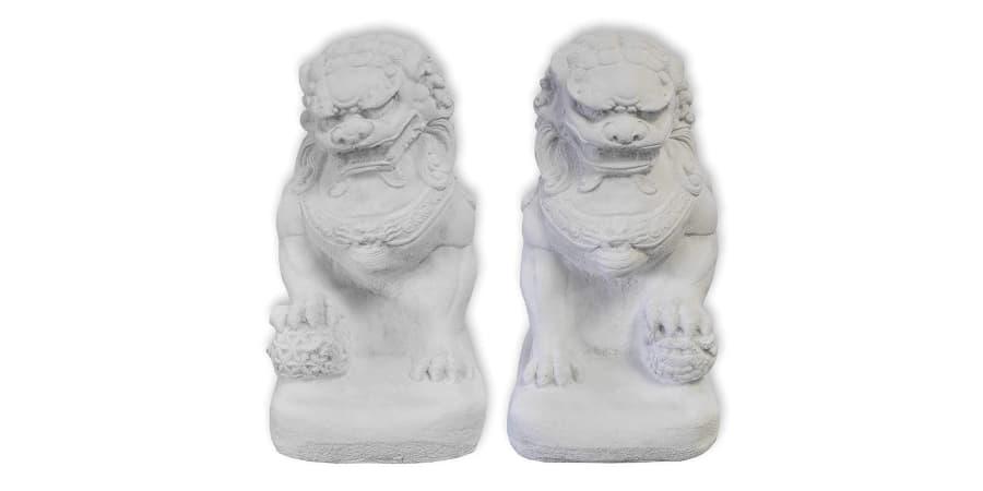 budismo leones de fu perro foo