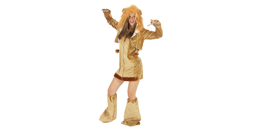 disfraz de leon para mujer leona