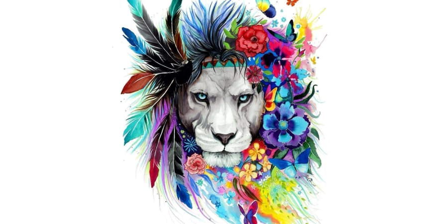 decoracion de leones